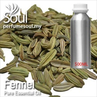 Pure Essential Oil Fennel - 500ml