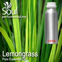 Pure Essential Oil Lemongrass - 500ml