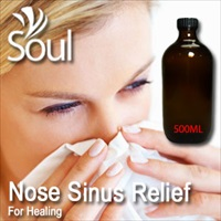 Essential Oil Nose Sinus Relief - 500ml